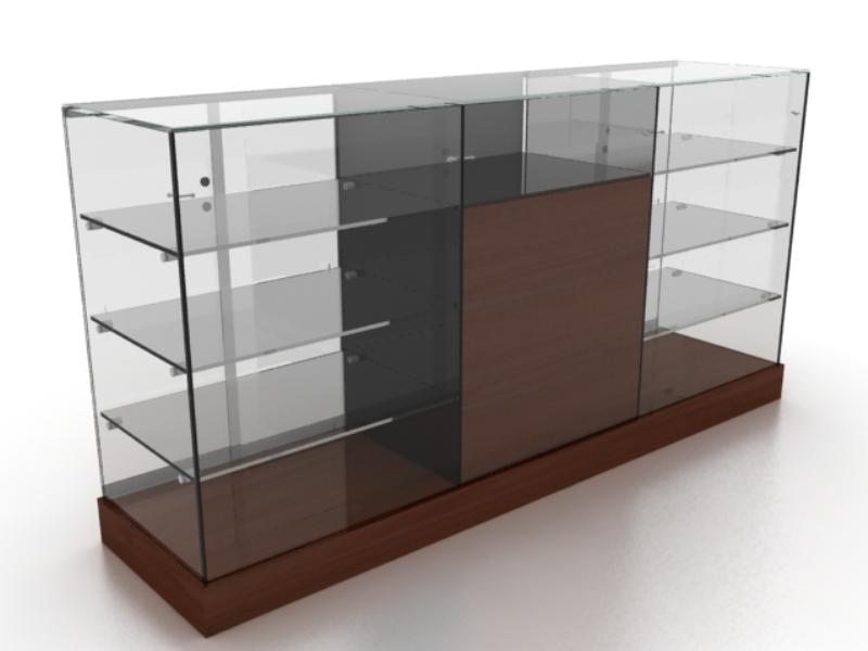 Рецепция витринна от стъкло и ПДЧ От Деми Дизайн ЕООД